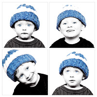 Ethan & Trystan 'Blue Eyes' and Lego Shoot